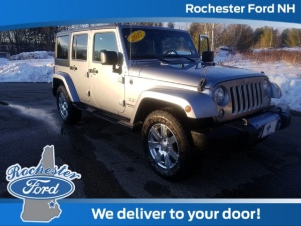 2017 Jeep Wrangler in Rochester, NH