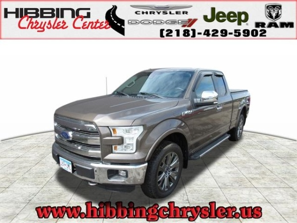 Ford Of Hibbing >> 2016 Ford F 150 Lariat Supercab 6 5 Box 4wd For Sale In Hibbing Mn