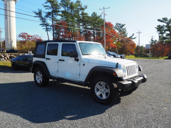 2016 Jeep Wrangler in Marion, MA