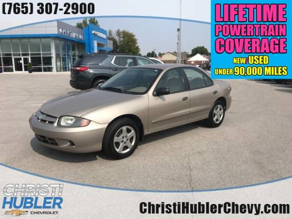 2003 chevrolet cavalier ls sedan for sale in crawfordsville in truecar truecar
