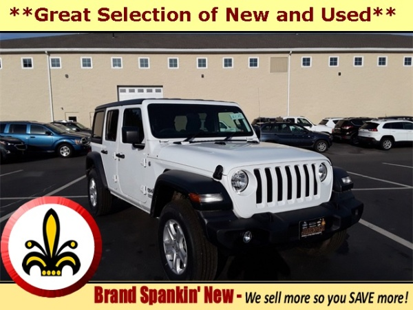 2019 Jeep Wrangler in Mendon, MA