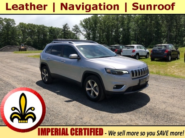 2019 Jeep Cherokee in Mendon, MA
