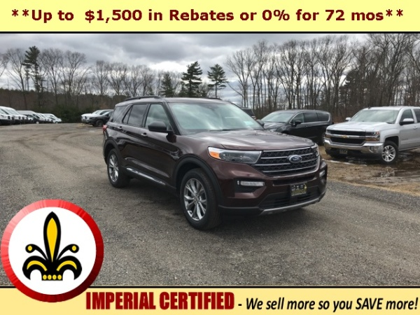2020 Ford Explorer in Mendon, MA