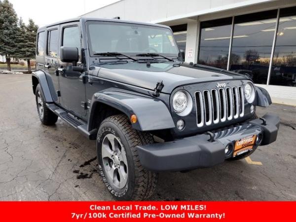 2017 Jeep Wrangler in Jacksonville, IL