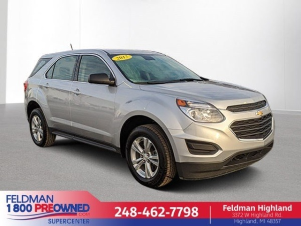 2017 Chevrolet Equinox in Highland, MI