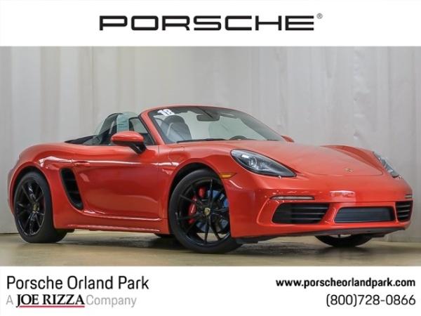 2018 Porsche 718 Boxster in Orland Park, IL