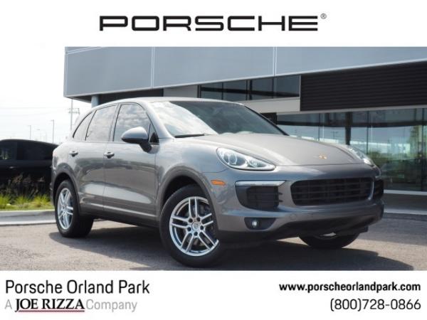 Orland Park Porsche >> 2018 Porsche Cayenne Awd For Sale In Orland Park Il Truecar