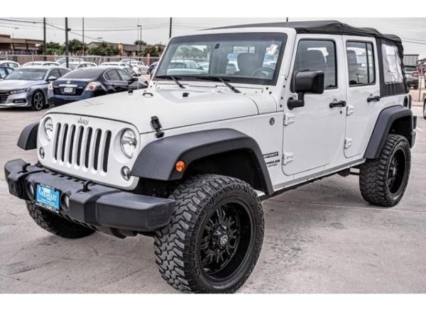 2014 Jeep Wrangler in Odessa, TX