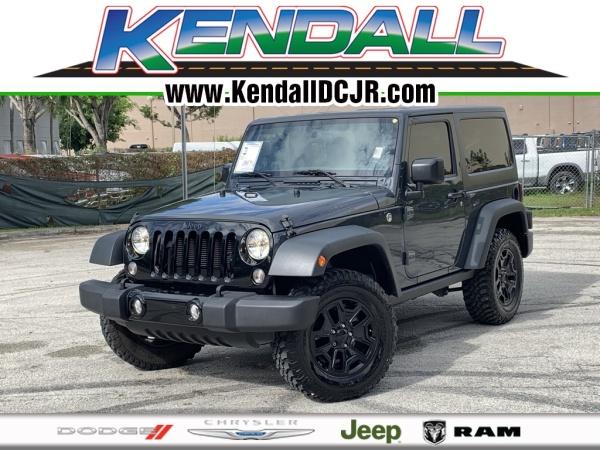 2016 Jeep Wrangler in Miami, FL