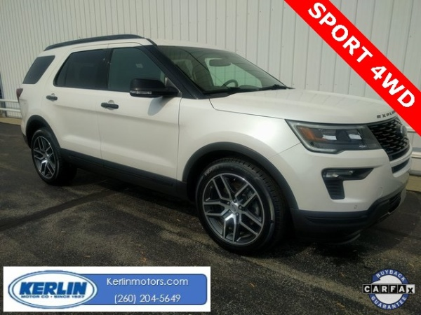 2018 Ford Explorer in Silver Lake, IN