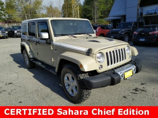 2017 Jeep Wrangler Chief Edition