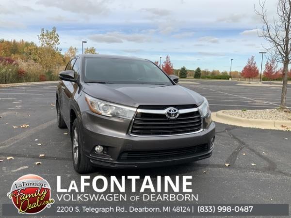 2015 Toyota Highlander in Dearborn, MI