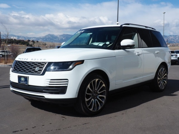 2019 Land Rover Range Rover in Broomfield, CO