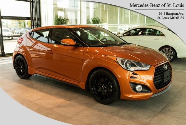 2014 Hyundai Veloster Turbo with Black Interior Automatic For Sale