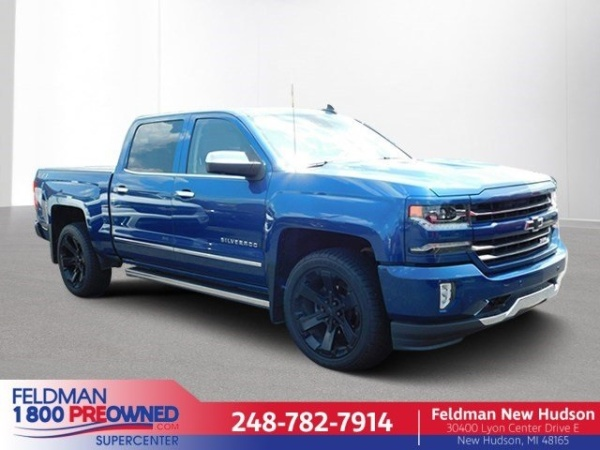 2018 Chevrolet Silverado 1500 in New Hudson, MI