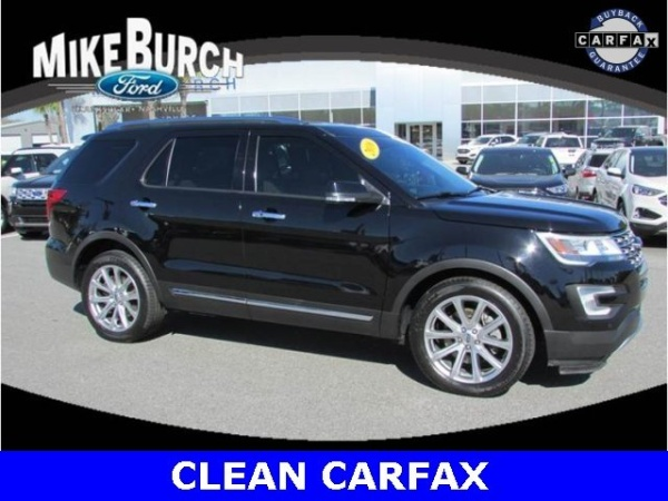 2016 Ford Explorer Limited Fwd For Sale In Blackshear Ga Truecar