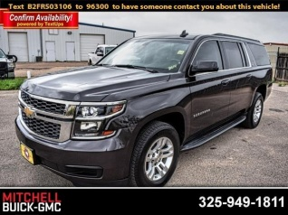 Used 2015 Chevrolet Suburban LS RWD For Sale In San Angelo, TX
