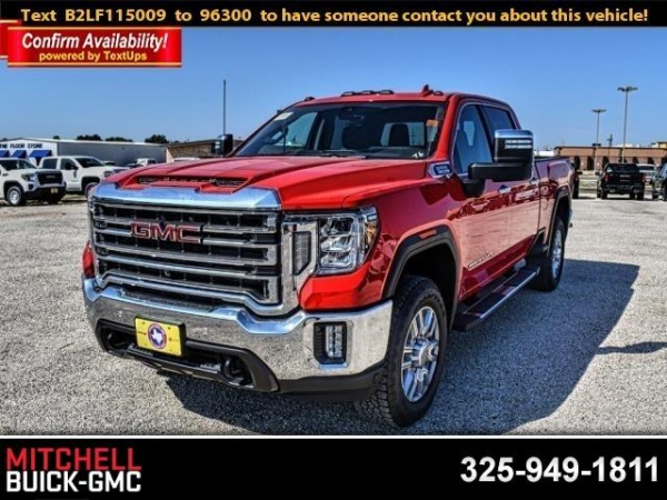 2020 Gmc Sierra 2500hd Slt For Sale In San Angelo Tx Truecar