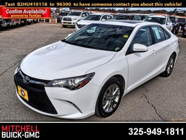 2017 Toyota Camry in San Angelo, TX