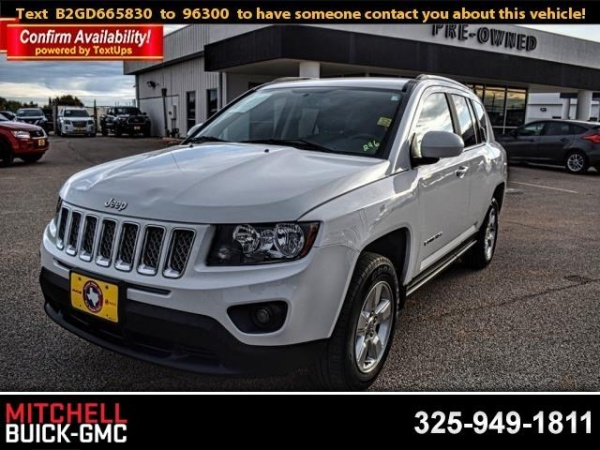 2016 Jeep Compass in San Angelo, TX