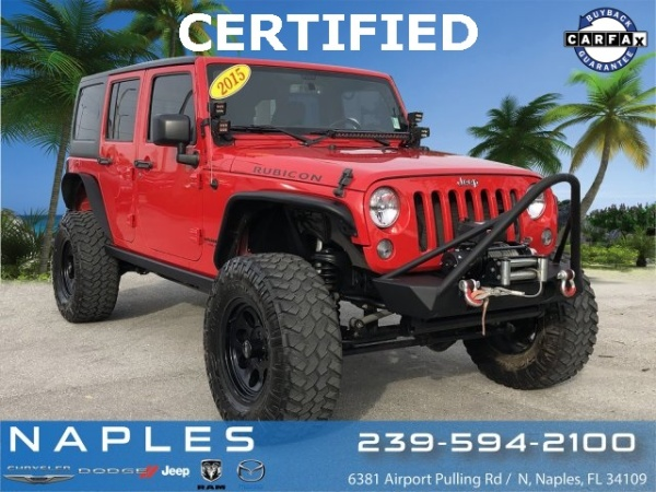 2015 Jeep Wrangler in Naples, FL