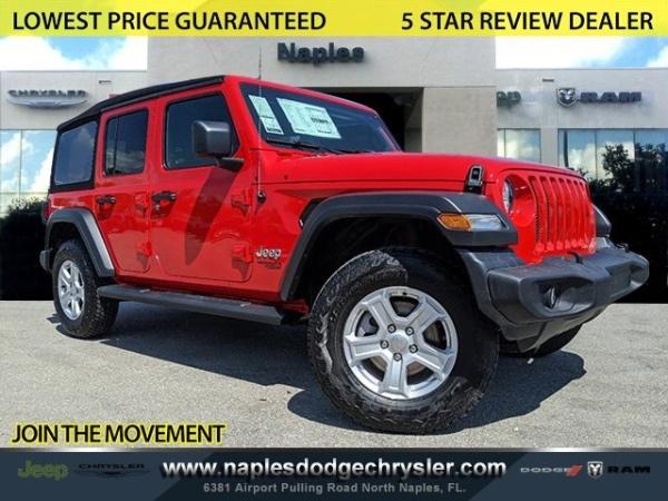2020 Jeep Wrangler in Naples, FL