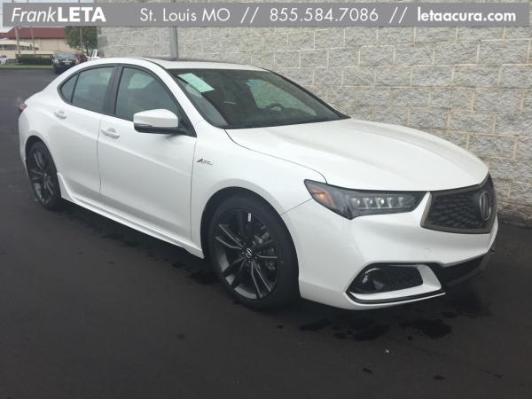 2020 Acura Tlx 2 4l Fwd With A Spec Package Red Leather For Sale In
