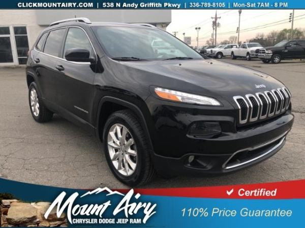 2017 Jeep Cherokee in Mount Airy, NC