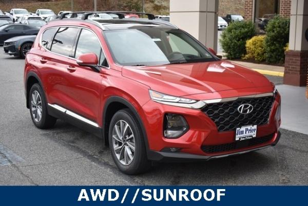 2020 Hyundai Santa Fe in Charlottesville, VA