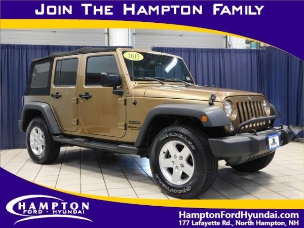 2015 Jeep Wrangler in North Hampton, NH