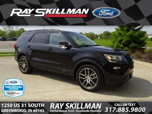 2018 Ford Explorer in Greenwood, IN
