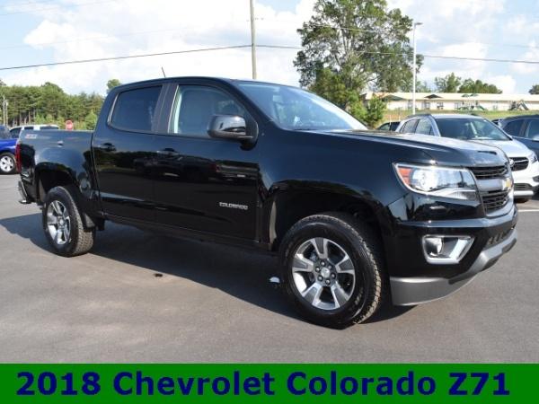 2018 Chevrolet Colorado Z71 Crew Cab Short Box 4wd Automatic