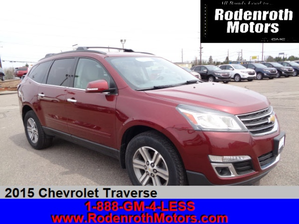 2015 Chevrolet Traverse in Sault Sainte Marie, MI