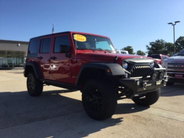 2014 Jeep Wrangler in Saint Robert, MO
