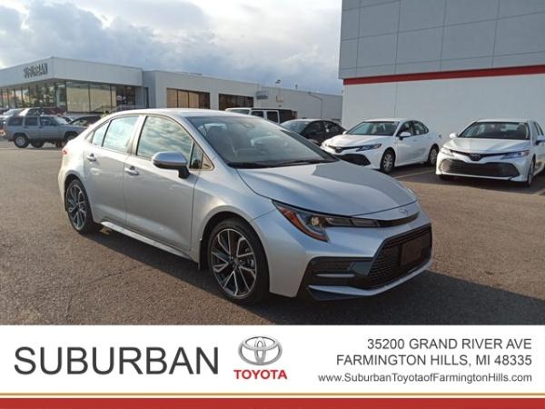 2020 Toyota Corolla in Farmington Hills, MI