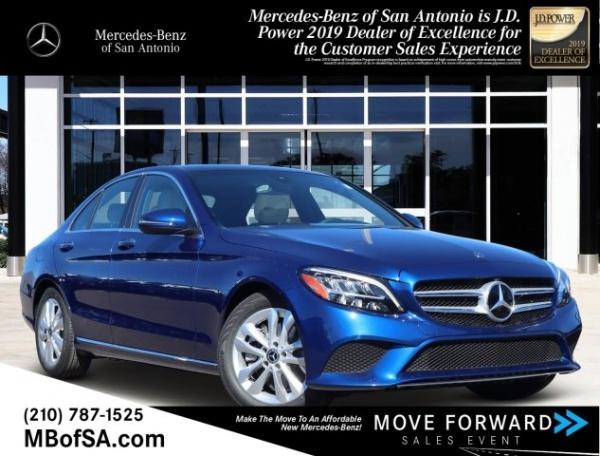 2020 Mercedes-Benz C-Class in San Antonio, TX