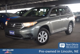 Used 2017 Toyota Highlander I4 Fwd For In Lincoln Ne