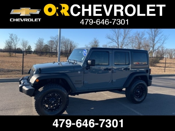 2015 Jeep Wrangler in Fort Smith, AR