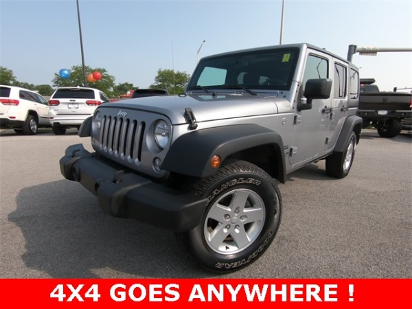2016 Jeep Wrangler In St. Charles, IL