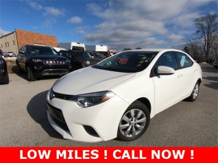 2016 Toyota Corolla Le Cvt For In St Charles Il