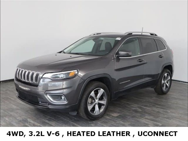 2019 Jeep Cherokee in St. Charles, IL