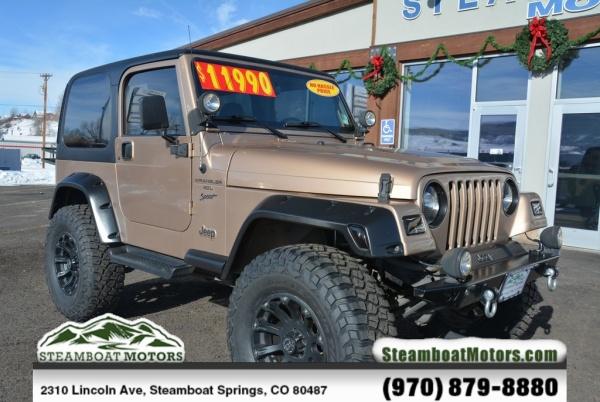 1999 Jeep Wrangler Sport For Sale In Steamboat Springs Co Truecar