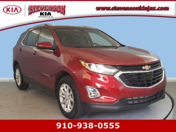 2018 Chevrolet Equinox Lt With 1lt Fwd For Sale In