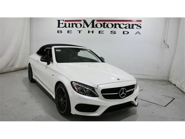 Mercedes Benz Bethesda >> 2018 Mercedes Benz C Class C 43 Amg 4matic Cabriolet For Sale In