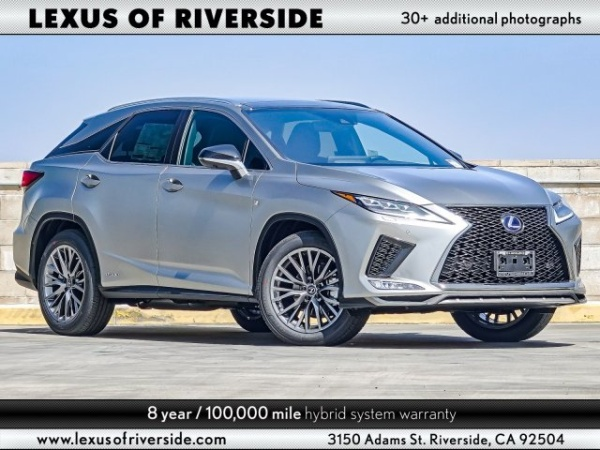 2020 Lexus RX in Riverside, CA