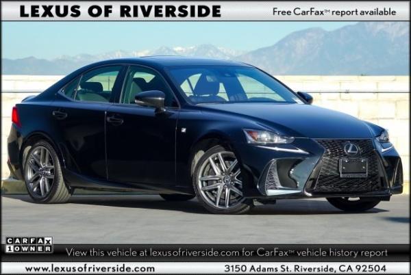 2017 Lexus IS in Riverside, CA