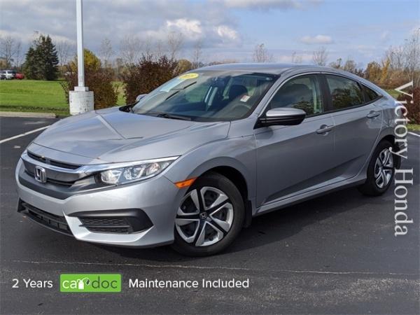 2018 Honda Civic in Monroe, MI