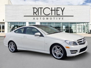 Used 2012 Mercedes Benz C Class C 250 Coupe RWD For Sale In Jackson
