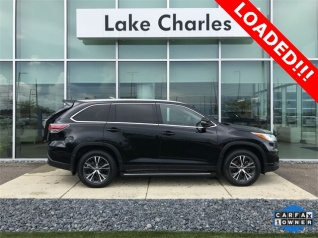 Used 2016 Toyota Highlander XLE V6 FWD For Sale In Lake Charles, LA