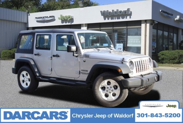 2016 Jeep Wrangler Unlimited Sport For Sale In Waldorf Md Truecar